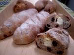 クリームクランベリースティックパン