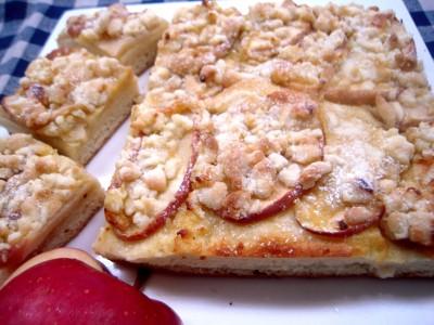 blechkuchen(りんごのブレヒクーヘン)